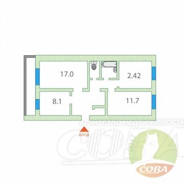Продажа квартиры, Богандинский, Тюменский район, Ул. Ломоносова - Фото 1