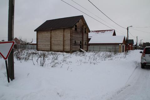 Недостроенный брусовой дом на участке 15 соток в ДПК Колосок - Фото 2