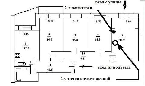 Продам 4- к. кв. 1/10 этажа, ул. Маршала Жукова - Фото 3