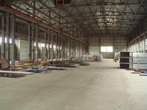 Производственная база 6000 кв.м Нижний Новгород - Фото 1