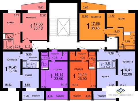 Продам 1-тную квартиру Мусы джалиля18ст, 10эт, 41 кв.м.Цена 1450 т.р - Фото 2