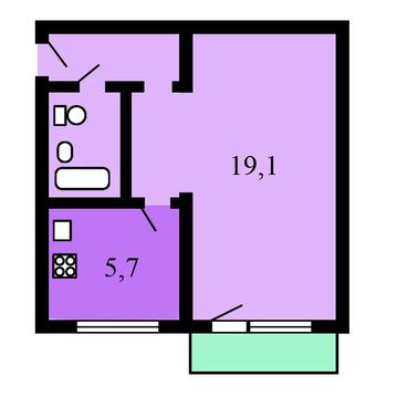Объявление №50046954: Продаю 1 комн. квартиру. Москва, ул. Академика Бочвара, 8,
