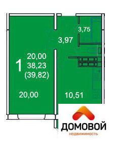1-комнатная квартира в мкр. Ивановские Дворики - Фото 5