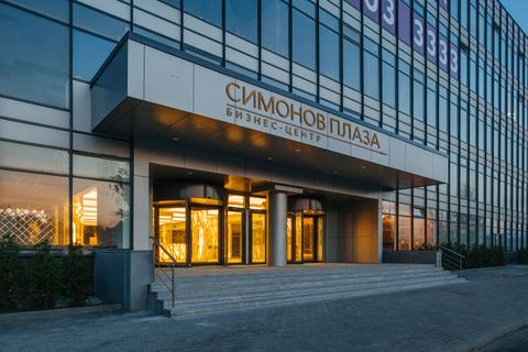 Аренда офиса 60.8 кв.м в БЦ класса B+ с отделкой. 150 м от м. Автоз. - Фото 1