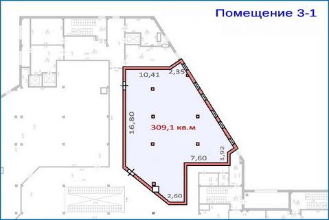 Помещение 309 кв.м в тоц в центре Красногорска, 6 км от МКАД - Фото 4