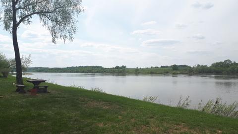 До реки Ока всего 250м, 28 соток ИЖС, п.Ланьшино, 100км от МКАД - Фото 1