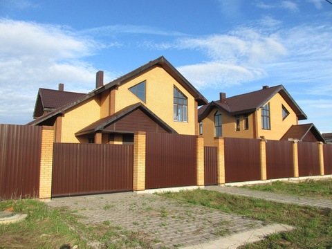 46 км от МКАД, Яхрома, Продаю новый коттедж 250 м2 на участке 15 соток - Фото 1