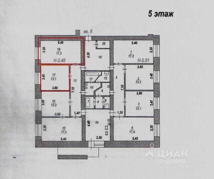 Комната Ивановская область, Иваново Профессиональная ул, 33 (17.0 м) - Фото 2
