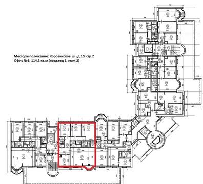 Офис 114.3 м2, кв.м/год - Фото 4
