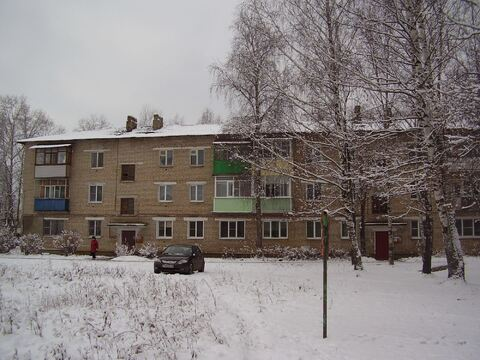Однокомнатная квартира по ул.Заводская, д.7 в Балакирево - Фото 1