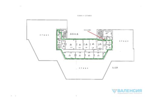 Предлагаем в аренду офисный блок 385м2 на 4эт. тк «призма», Бутлерова - Фото 2
