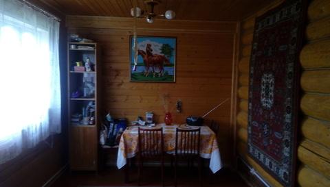 Продается зимняя дача из бревна с баней Верхнее пикалово Чехов - Фото 4