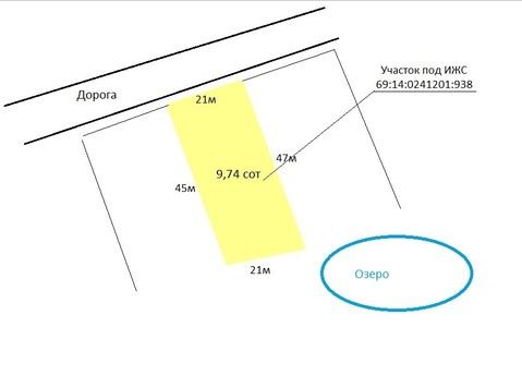 Участок 9,74 сот, ИЖС, д.Крева. - Фото 2