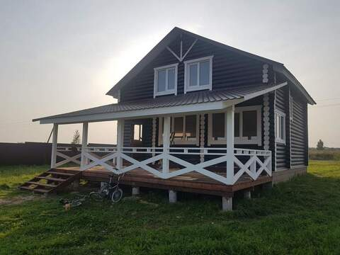 На озере Савельево: дом 164 м2 на участке 10 соток - Фото 1