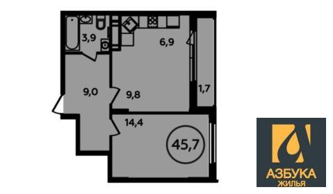 Продам 2-к квартиру, Новомосковский Административный округ, жилой . - Фото 1