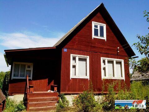 Дом в д. Зачатье, с мансардой без внутренней отделки, общей площадью 7 - Фото 1