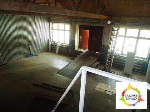 Теплый склад с окнами, разгрузка в пол, широкие распашные ворота, внут - Фото 5