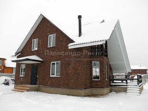 Машково. Загорье. Новый дом рядом с озером. 75 км от МКАД по Киевск. - Фото 1