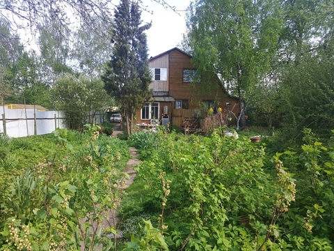 Участок 14 соток чс частью дома в д. Белозерово - Фото 1