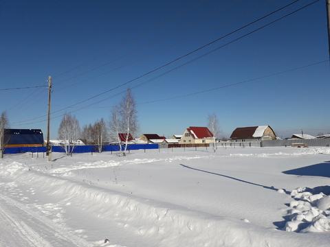 Участок 15,4сот, п. Богандинский, Тюменский район - Фото 4
