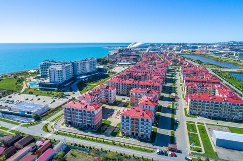 Апартаменты в олимпийском парке с видом на море - Фото 4