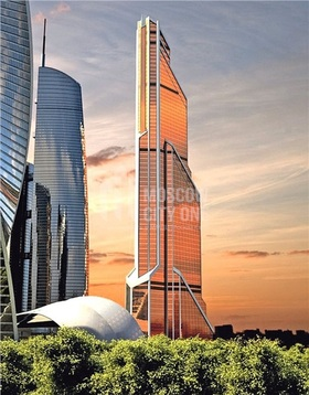 Апартаменты в Башне Меркурий 201.7 м2 46 этаж - Фото 1