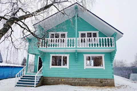 Продается новый дом 170 кв.м, в деревне, участок 18 соток. - Фото 4