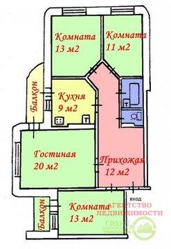 Полностью меблированная 4-х ком. квартира рядом с 38 лицеем - Фото 2