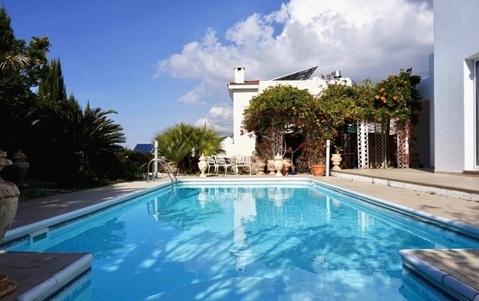 Хорошая 3-спальная вилла с видом на море в пригороде Пафоса - Фото 3