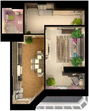 "Самая низкая цена на предложение квартиры(компаунд ""Живаго"") - Фото 2"
