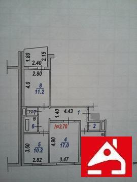 Продам 3 уп, Купить квартиру в Иваново по недорогой цене, ID объекта - 316807016 - Фото 1