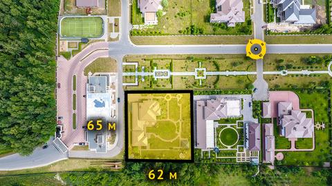 2-х этажный дом 430 м2 на 39 сотках в кп Графские пруды - Фото 3