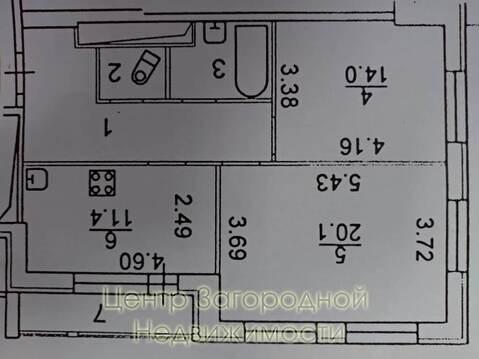 Двухкомнатная Квартира Область, проспект Ленина, д.82, корп.1, . - Фото 2