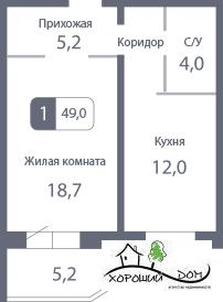 Продается квартира Московская обл, Солнечногорский р-н, деревня . - Фото 1