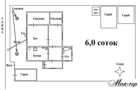 Дом ПМЖ, земля 6 сот, г. Электросталь, ул. Металлургов, Московская обл - Фото 1