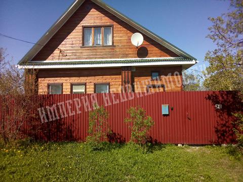 Дом, 160 кв.м, бревенчатый, участок 6,1 сот. ИЖС - Фото 1