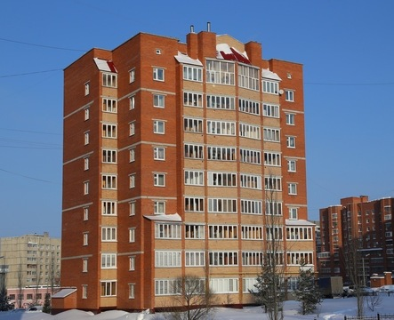 Продам большую 1 кквартиру в сзр Чебоксар в кирпичном доме, Купить квартиру в Чебоксарах по недорогой цене, ID объекта - 321683539 - Фото 1