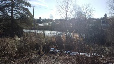Дачный участок 7 соток, с маленьким домиком, в ртс, на берегу пруда - Фото 4