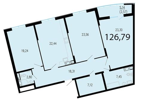 Продам 3к. квартиру. Жукова ул. к.2.1, Продажа квартир в Санкт-Петербурге, ID объекта - 318416778 - Фото 1
