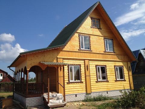 Новая дача на р.Волга - Фото 1