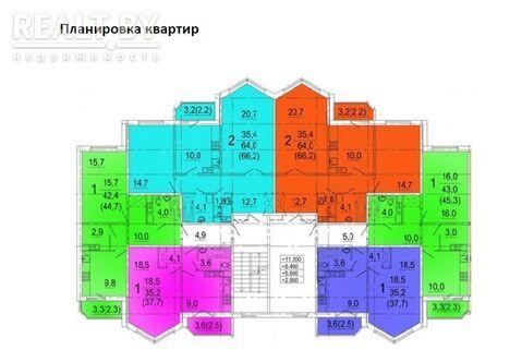 Продажа 1 комнатной квартиры, г. Слуцк, ул. Чехова, дом 21., Купить квартиру в Минске по недорогой цене, ID объекта - 321515567 - Фото 1