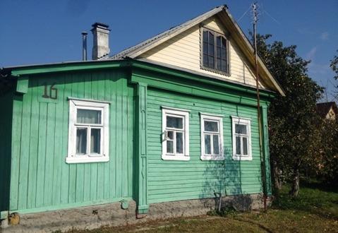 Дом ПМЖ 50 кв.м на участке 14 соток, Продажа домов и коттеджей в Струнино, ID объекта - 502555382 - Фото 1