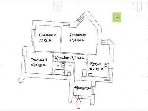 Продажа 3-х комнатной квартиры на Готвальда 14 - Фото 2