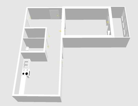 Комната в 3-комнатной квартире 35 мкр.9д - Фото 1
