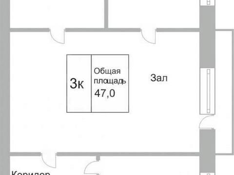 Продажа трехкомнатной квартиры на проспекте Авиаторов, 76 в ., Купить квартиру в Новокузнецке по недорогой цене, ID объекта - 319828492 - Фото 1