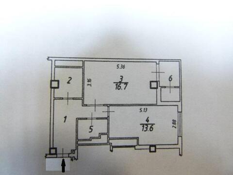 Продажа 1 комнатной кв-ры в центре г.Белгорода ул. Белгородского полка - Фото 2