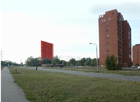 Земля 3036 м2 с проектом многоэтажного жилого дома - Фото 3