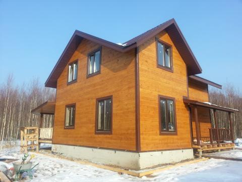 Новая дача 130 кв м СНТ у г.Боровск - Фото 1