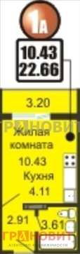 Продажа квартиры, Новосибирск, Ул. Фадеева - Фото 4