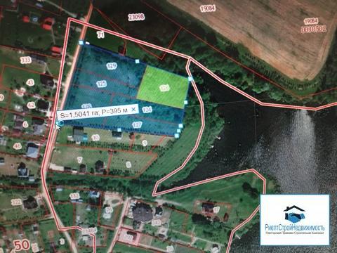 1.5 Га на первой, береговой линии Озернинского водохранилища, ИЖС - Фото 1